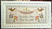 Gabrielle Rose - Cross Stitch Pattern