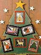 Folk Art Christmas - Cross Stitch Pattern