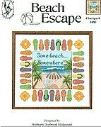 Beach Escape - Cross Stitch Pattern