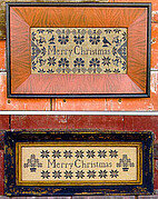 Quaker Christmas Samplers - Cross Stitch Pattern