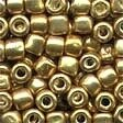 Mill Hill 05557 Old Gold Pebble Beads - Size 3/0