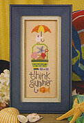 Think Summer - Cross Stitch Pattern
