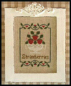 Summer Strawberries - Cross Stitch Pattern