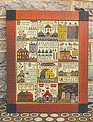 Village Of Hawk Run Hollow, The - Cross Stitch Pattern
