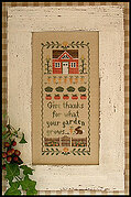 Harvest Blessing - Cross Stitch Pattern