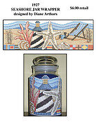 Seashore Jar Wrapper - Cross Stitch Pattern