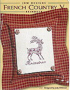 French Country V - Reindeer - Cross Stitch Pattern