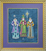 We Three Kings - Cross Stitch Pattern