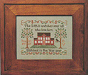 Psalm 145 - Cross Stitch Pattern