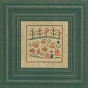Autumn Snapperland - Pumpkin Hunt - Cross Stitch Pattern