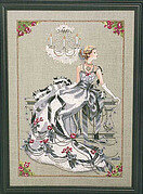 Crystal Symphony - Mirabilia Cross Stitch Pattern