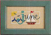 Flip-It Bits June - Cross Stitch Pattern