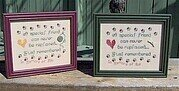 Cat and Dog Memorials - Cross Stitch Pattern
