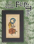 Flip-It Bits October - Cross Stitch Pattern