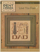 Love You Dad  - Cross Stitch Pattern