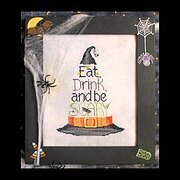 Eat, Drink and Be Scary - Cross Stitch Pattern
