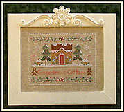 Gingerbread Cottage - Cross Stitch Pattern