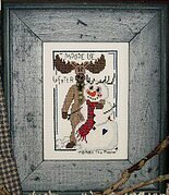 Moose Be Winter - Cross Stitch Pattern