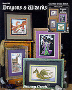 Dragons & Wizards - Cross Stitch Pattern