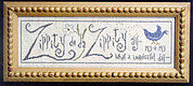 Zippity Do Da - Cross Stitch Pattern