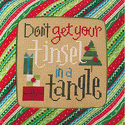 Don't Get Your Tinsel In A Tangle - Cross Stitch Pattern