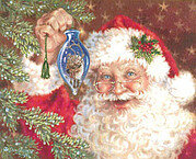 Deck The Halls (Santa) - Cross Stitch Pattern