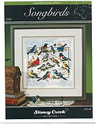 Songbirds (Chartpack) - Cross Stitch Pattern
