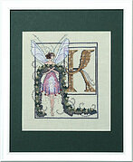 Letters From Nora - K - Cross Stitch Pattern