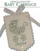 French Country Baby Carriage - Cross Stitch Pattern