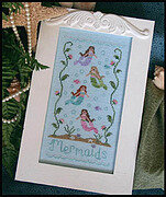 Mermaids - Cross Stitch Pattern
