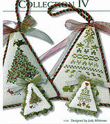 Christmas Tree Collection IV - Cross Stitch Pattern