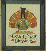 Uber Turkey - Cross Stitch Pattern