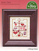 Love Tree - Cross Stitch Pattern