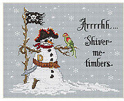 Shiver Me Timbers - Cross Stitch Pattern