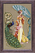 Lady Hera - Mirabilia Cross Stitch Pattern