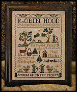 Robin Hood - Cross Stitch Pattern