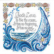 God's Love - Cross Stitch Pattern