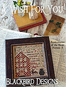 Wish For You, A - Anniversaries of the Heart 3 Cross Stitch