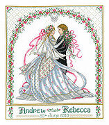 Rose Bower Wedding Sampler - Cross Stitch Pattern