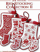 Red Stocking Collection II - Cross Stitch Pattern