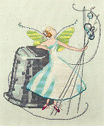 Stitching Fairies - Thimble Fairy - Cross Stitch Pattern