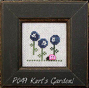 Our House Pearls - Kurt's Garden - Cross Stitch Pattern