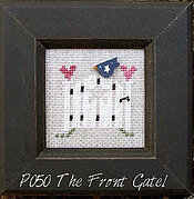 Our House Pearls - Front Gate - Cross Stitch Pattern