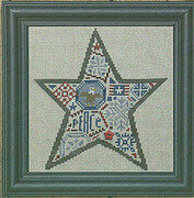 Quaker Star - Cross Stitch Pattern