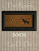 Raven, The - Cross Stitch Pattern