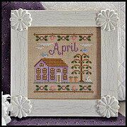 Cottage of the Month April - Cross Stitch Pattern