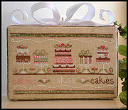 Party Cakes - Cross Stitch Pattern