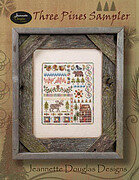 3 Pines Sampler - Cross Stitch Pattern