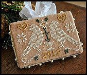 2012 Ornament 3 Quaker Birds - Cross Stitch Pattern