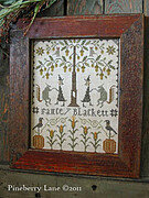 Fancey Blackett - The Harvest Dance - Cross Stitch Pattern